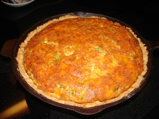 Cast Iron Quiche