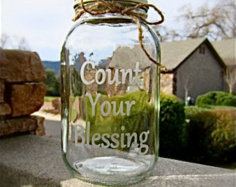 Count Your Blessings Jars Rebel Wife S Blog